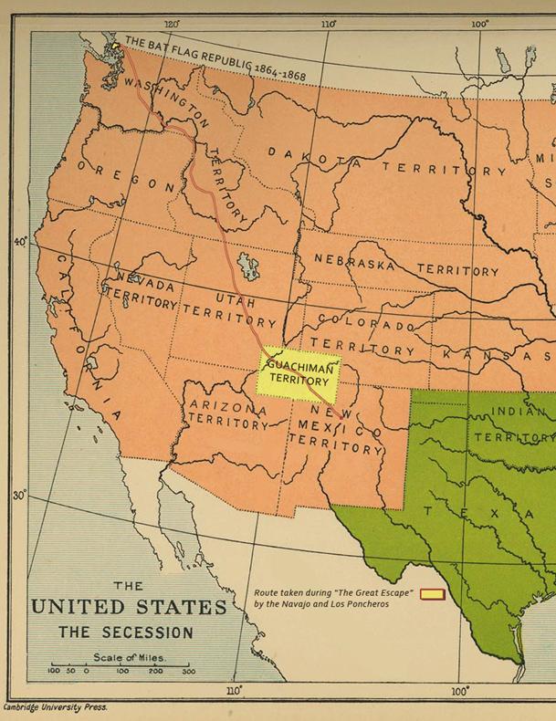Guachiman Territory old map